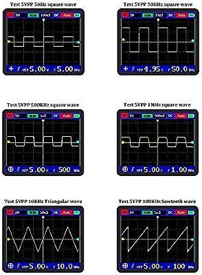 KKmoon DSO PRO Digital Oscilloscope Handheld Oscilloscope with P6100 Probe