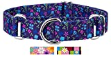 #9: Country Brook Petz Blueberry Fields Martingale Dog Collar - Large