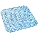 Dintex Mosaico–Tappeto Antiscivolo per Doccia, 54x 54cm, Colore: Blu