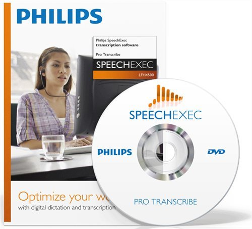 Philips LFH4500 Philips SpeechExec Transcription Software by Philips
