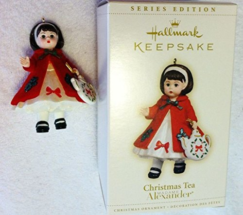Hallmark Christmas Tea Madame Alexander Keepsake Ornament