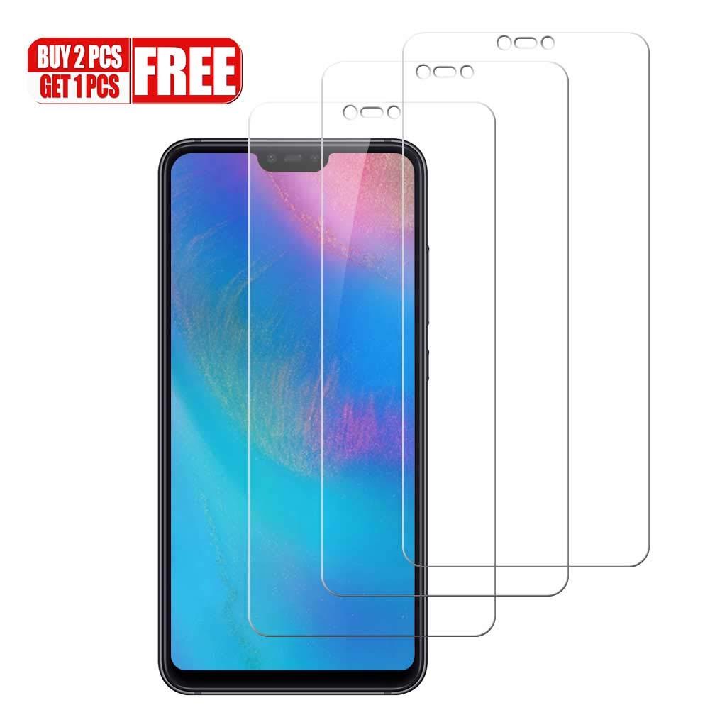 Hanbee Protector de Pantalla para Samsung Galaxy A50 2019 [3 Unidades] Cristal Templado para Samsung Galaxy A50 2019, [Alta Definicion][9H Dureza] [Resistente a Arañazos] [3D Cobertura Completa ]