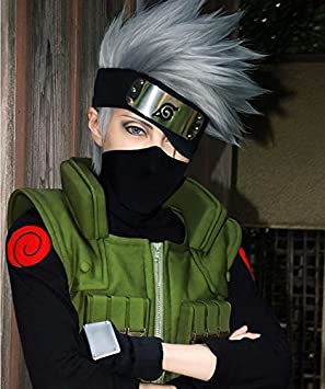 Market-One Anime diseño de kakashi de Naruto Hatake de Cosplay ...