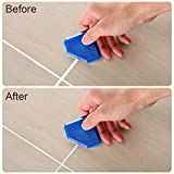 4 Pcs Corner Angle Glass Scraper Caulk Hand Applicator Finishing Tool Kit Joint Sealant Silicone Putty Grout Smoothing Tool Set Remover