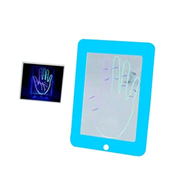 Amazon Com Kakiblin Light Up Play And Trace Drawing Tablet With