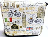 New Paris, London, Rome in Beige Messenger Bag By Gifts and Beads
