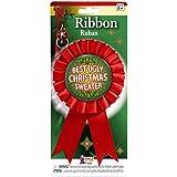 Forum Novelties Women's Award Ribbon For Ugliest Christmas Sweater