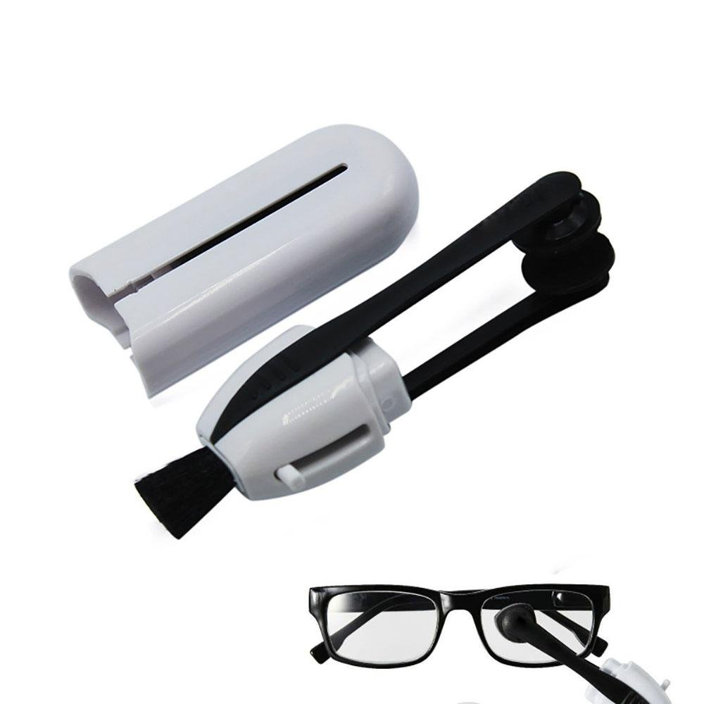 Eyeglass Cleaner - Lens Cleaner No Cloths, No Wipes, No Sprays All-in-One for Eyeglasses and Sunglasses - Glasses Cleaner for All Types of Eye Wear Pawaca
