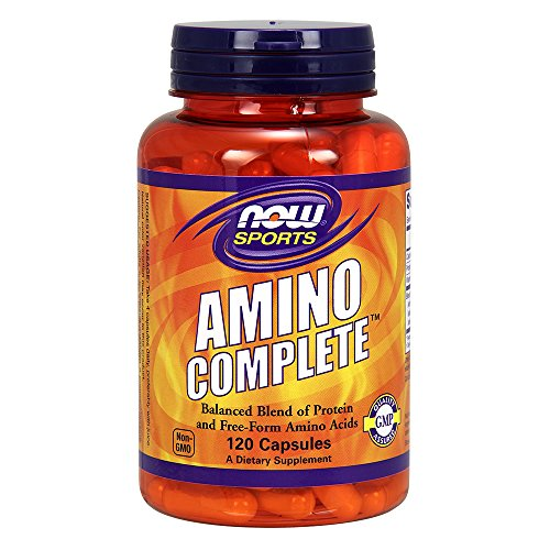 - Now Amino Complete, 120 Capsules (Pack of 2)