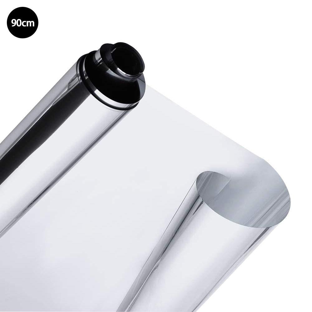 Le Bureau Urben Life Film Miroir Protection UV Isolation Thermique Facile /À Installer Anti-d/éflagrant Argentique Film R/éfl/échissant Sp/éculaires Professionnel De Haute Qualit/é pour La Maison