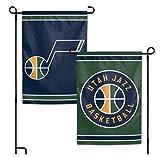 WinCraft NBA Utah Jazz 12.5'' x 18'' Inch 2-Sided Garden Flag Logo