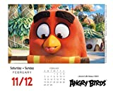 Angry Birds 2017 Boxed/Daily Calendar