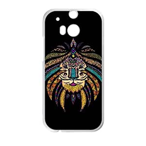 Treasure Design Ethnic Tribal TPU Case Skin for HTC One M8 Case Cover New Style