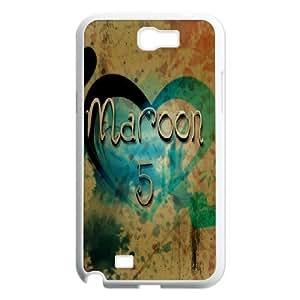 C-EUR Diy Phone Case Maroon 5 Pattern Hard Samsung Galxy S4 I9500/I9502