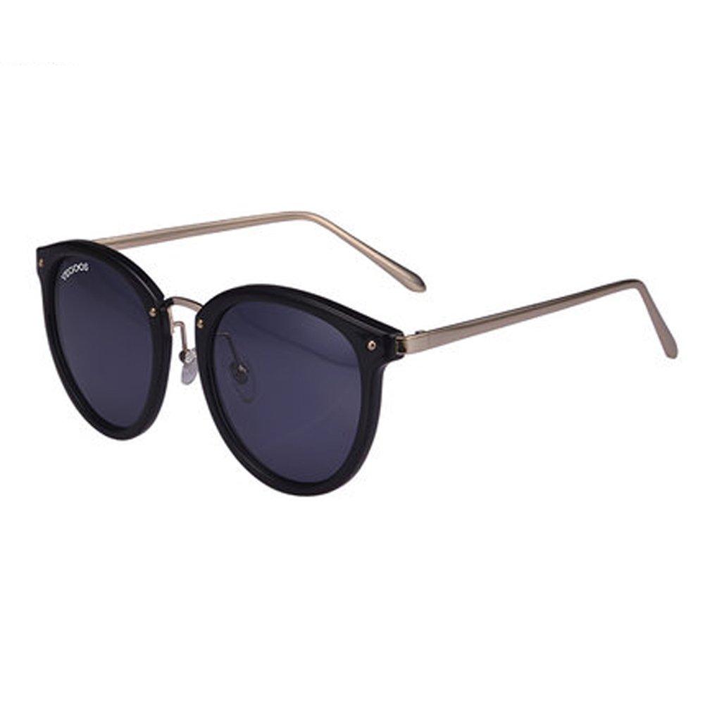 ZY Women's Sunglasses Women UV Sunglasses New Round Face Outdoor Glasses Polarized Glasses,B