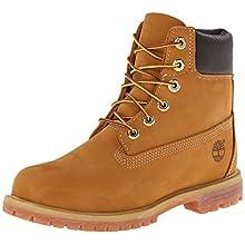 Timberland Women's 6-Inch Premium Boot,Wheat,8.5 W US