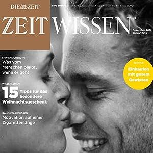 ZeitWissen Dezember 2014 / Januar 2015 Audiomagazin
