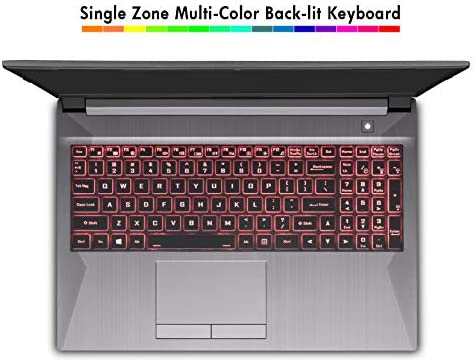 Sager NP7858DW 15.6-Inch Thin Bezel FHD 144Hz Gaming Laptop, Intel i7-10875H, RTX 2060 6GB, 16GB RAM, 500GB NVMe SSD, Windows 10 51y G7c6dhL