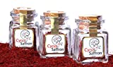 Cyrus Saffron Spanish Saffron'' 100% Pure Coupe''(Aragon Spain) (10 Grams), [SUPER NEGIN]