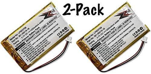 1350T ZZcell Battery for Garmin 361-00019-16 1370T 1390 1350 Garmin Nuvi 1300 361-00019-12 1490 1390T 1375T 1 1340T Pro 1370