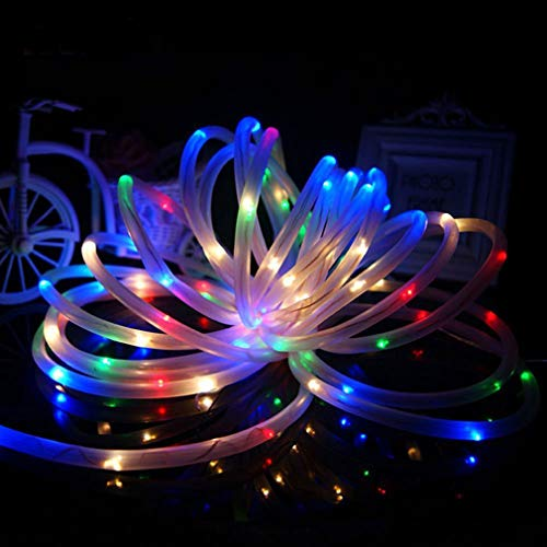 s,LED Solar Fairy Lights Christmas Tree Chain Outdoor Lighting Garden Party MR ()