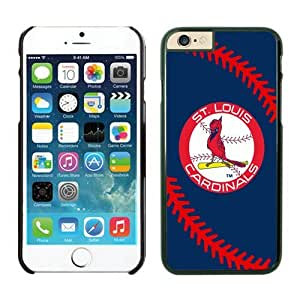 iPhone 6 Cover Case,St. Louis Cardinals TPU Rubber Phone Case For Apple iPhone 6 4.7 Inch Case 1 Black