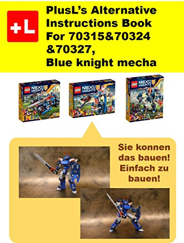 Plusl Remake Anweisungen Fur Lego 703157032470327 Blauer Ritter