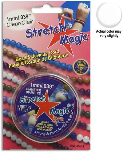 Choose Size /& Colour Stretch Magic Elastic for Jewellery Making Free Post