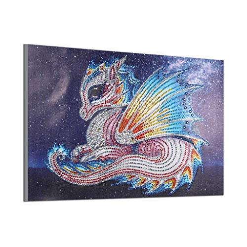 Embroidery Painting Special Shaped 5D Diamond Painting Drill Cross Stitch Kit DIY Crystal Full Diamond Painting Art Craft Embroidery Needlework Drill Decor Cross Stitch Kit -