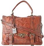 FRYE Cameron Satchel,Cognac,one size, Bags Central