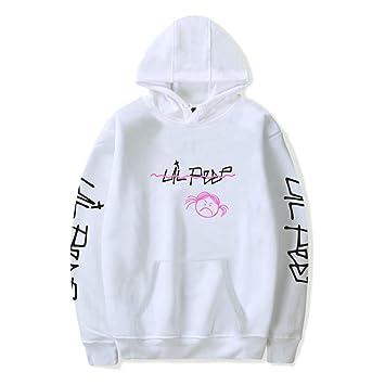 ZWZH Unisex Lil Peep Sudadera con Capucha suéter de la Calle Hip Hop Sudaderas suéter Jersey suéter de Manga Larga para Hombres/Mujeres de tamaño Suelto: ...