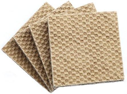 Superb DURA GRIP Heavy Duty Non Slip Rubber (No Glue Or Nails) Furniture Floor Pads,  Protectors, 4u0027u0027 L, Set Of 8