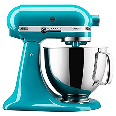 KitchenAid KSM150PSON Artisan Series Stand Mixer with Pouring Shield, 5 quart, Ocean Drive