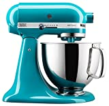 ingredient mixer - KitchenAid KSM150PSON KSM150PSON Stand Mixer, 5 quart, Ocean Drive