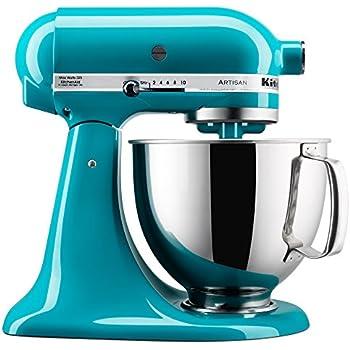 Amazon Com Kitchenaid Ksm155gbsa 5 Qt Artisan Design