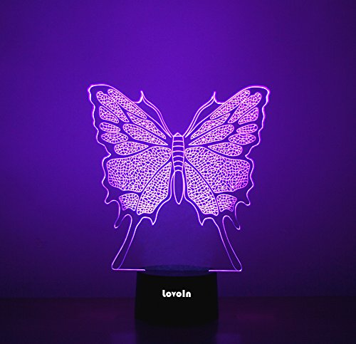 Led 3D Butterfly Night Lights in US - 6