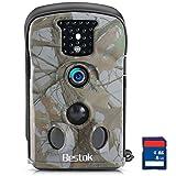 Bestok Trail Hunting Camera Wildlife Deer Game Cam12MP Night Vision 120 Full HD 2.4 LCD Screen PIR...