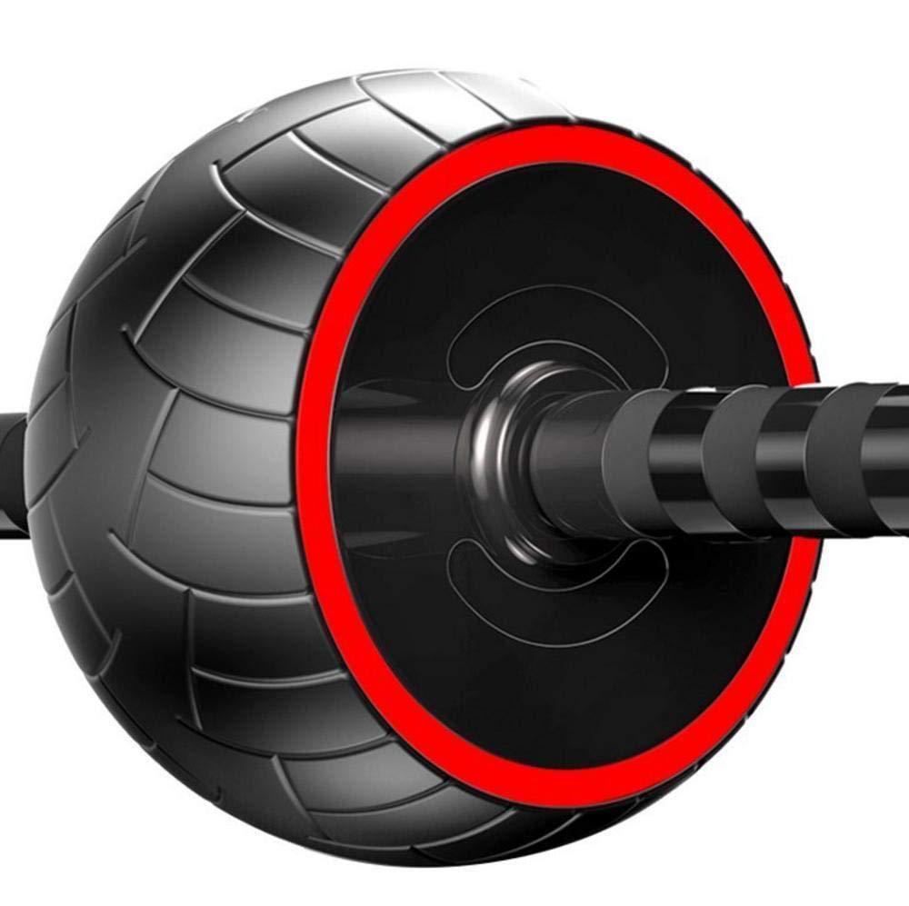 Olydmsky Wheel Bauchtrainer Gesunder Bauch Rad ABS Männer stumm Empfangsanlagen Hause Bauch Fitness Trainer