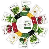 Botabay Organic Face Mask Sheet for Sensitive Skin Korean Hydrating Facial Sheet Mask Natural Plant Essence Mask Sheet Pack Alcohol-Free,10Pcs
