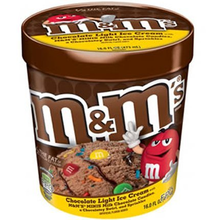 M&M'S Ice Cream, Pint (4 Count)