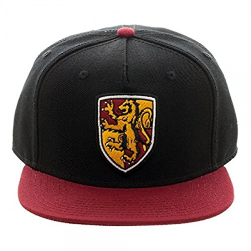 Harry Potter Gryffindor Crest Black & Red Snapback (Harry Potter Shop)