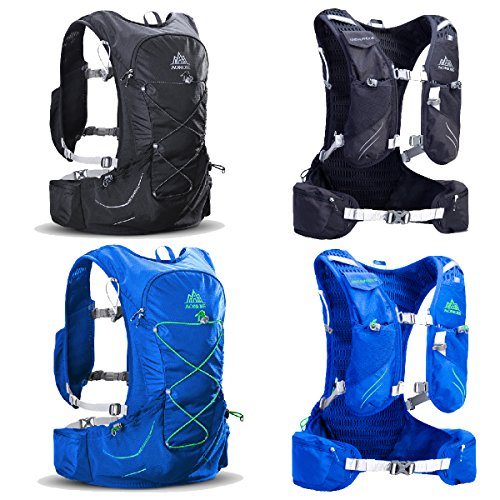 6a189fa021 TRIWONDER 15L Hydration Pack Ultra Trail Running Vest Marathon Backpack  with Hydration Bladder