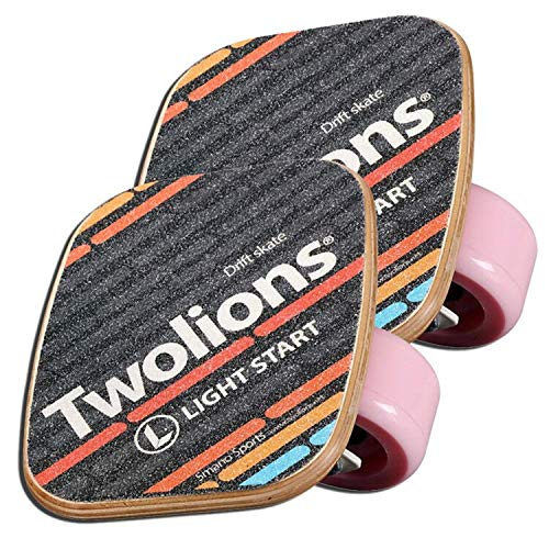 - EASY BIG Outdoor Freeline Roller Skates Road Drift Skates Plate with PU Wheels and ABEC-9 608 Bearings (Pink with Maple Wooden Plates)