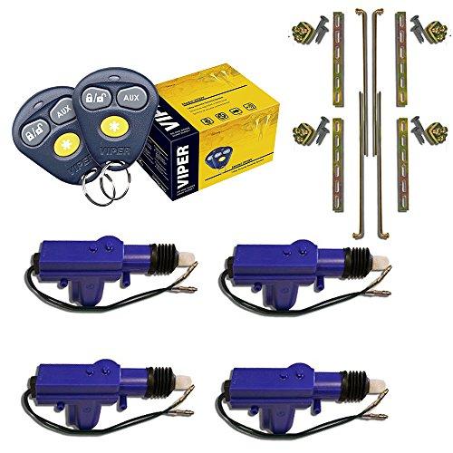 2 Remote Control Car Alarm Security System Keyless Entry Siren - 9
