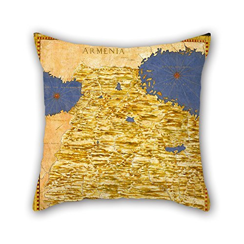 Loveloveu 16 X 16 Inches / 40 By 40 Cm Oil Painting Egnazio Danti - Middle East- Georgia, Armenia, Iraq, Western Iran Pillowcase ,2 Sides Ornament And Gift To Bedding,wife,family,couples,play Room,c