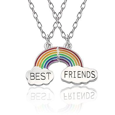 62414f823a6b Collar Mingjun para mejores amigos