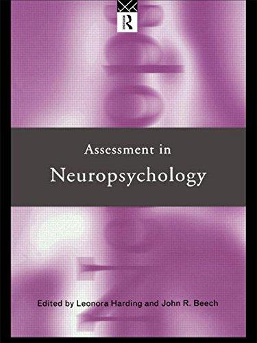 Assessment in Neuropsychology