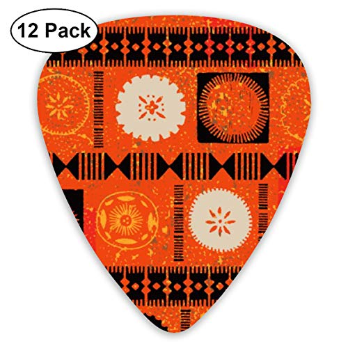 Fijian Tapa 2b_2035 Classic Celluloid Picks, 12-Pack, for sale  Delivered anywhere in USA