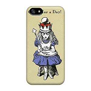 EricHowe Iphone 5/5s Protective Hard Phone Case Customized Nice Queen Pictures [uDa270OedT]