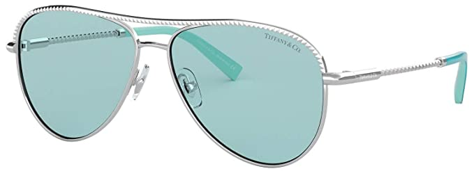 4ad58d4c2fb Amazon.com  Tiffany   Co. TF 3062 Aviator Sunglasses for Women New ...